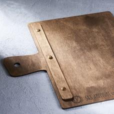 Деревянное меню доска