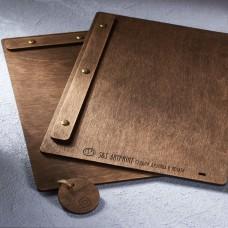 Деревянное меню планшет