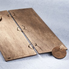 Барное деревянное меню