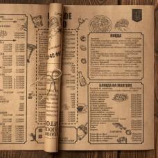 Барное меню на крафте. Срочная печать