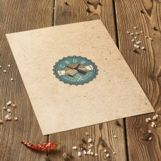 Печать на бумаге крафт А4 (имитация крафта) цветное  от 10шт