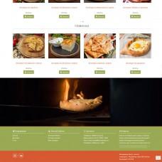 Продающий адаптивный сайт для ресторана